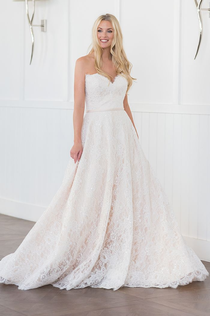 Augusta Jones Edith Town Country Bridal Boutique St Louis Mo Townandcountr Wedding Dresses Strapless Augusta Jones Wedding Dress Ball Gowns Wedding