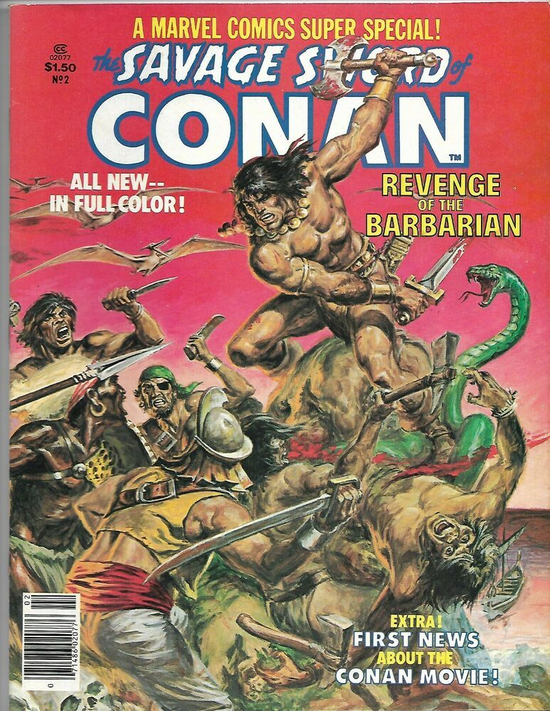 Marvel Comics SAVAGE SWORD OF CONAN issue 1 first printing