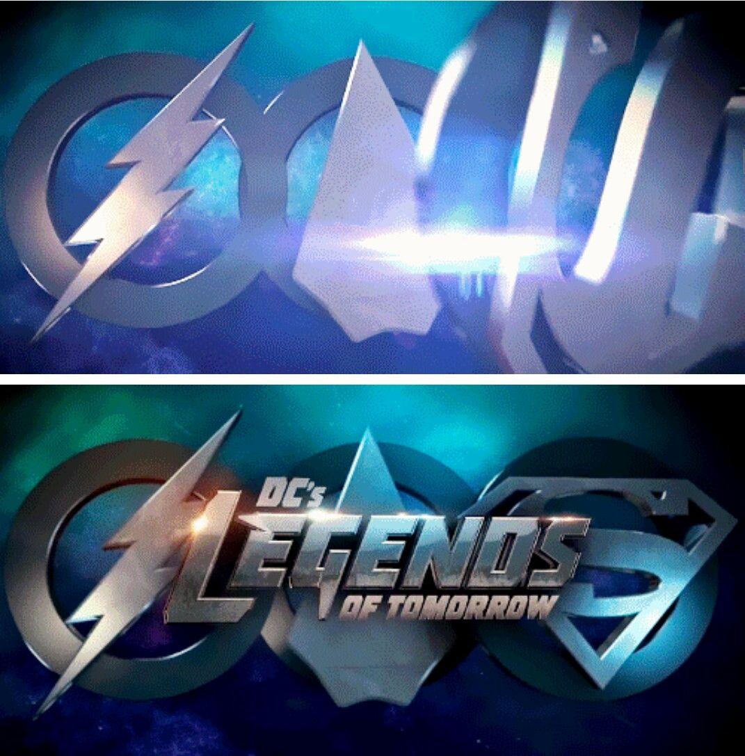 Super Legends Of Flarrow Logo Legendsoftomorrow Season2 2x07