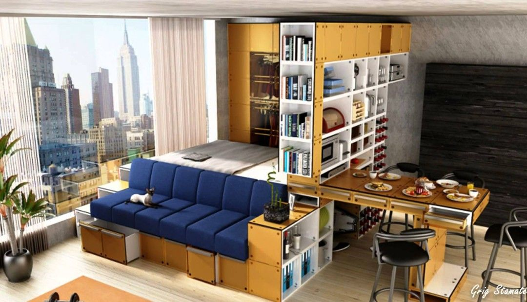 Best 11 Ways To Divide A Studio Apartment Into Multiple Rooms 640 x 480