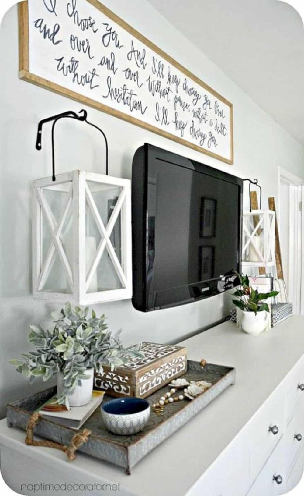 5 Modern Rustic Home Decor Ideas For Living Room Bedroom Tv Wall Farm House Living Room Apartment Decor