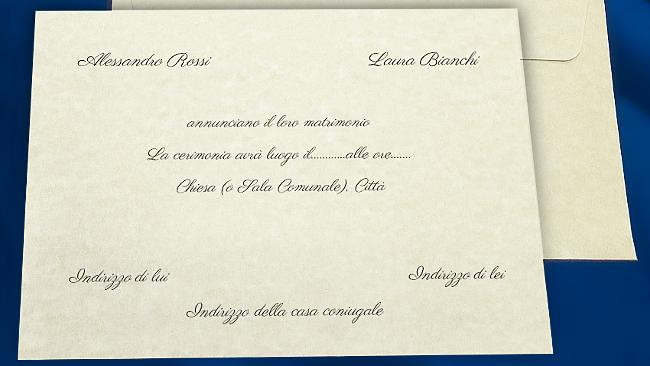 Testo Partecipazioni E Inviti Matrimonio Cerca Con Google Partecipazioni Nozze Nozze Partecipazione