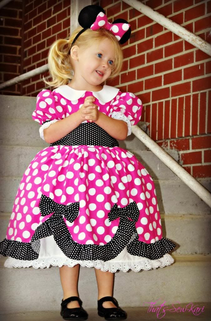 The perfect Minnie Mouse Dress! u2014 Pattern Revolution  sc 1 st  Pinterest : pattern for minnie mouse costume  - Germanpascual.Com
