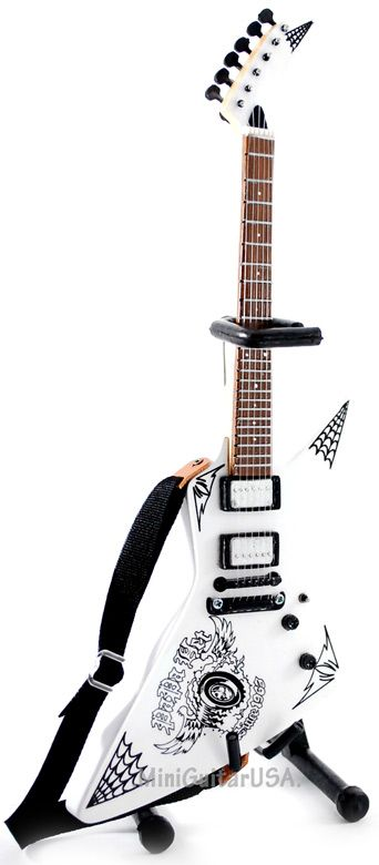 *LOVE* James Hetfield Mini Guitar Replica (Papa Het Signature)
