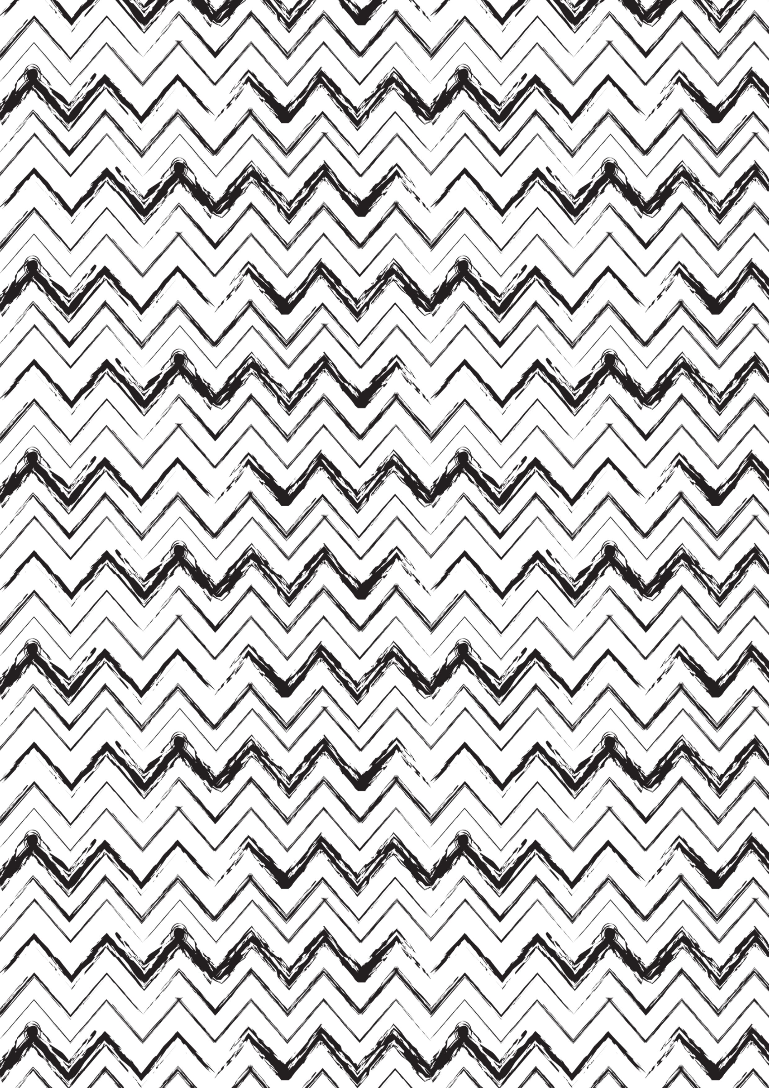 Monochrome Black And White Print Pattern Zigzag PatternsTextures PatternsDesign PatternsPrint PatternsFabric