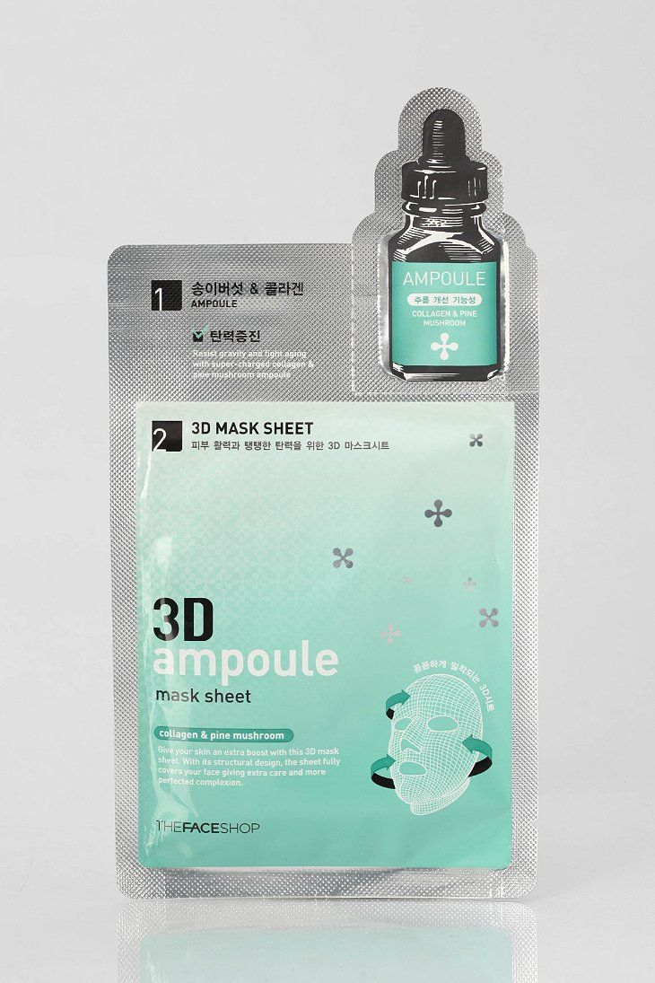 The Face Shop 3d Ampoule Mask Sheet Urban Outfitters