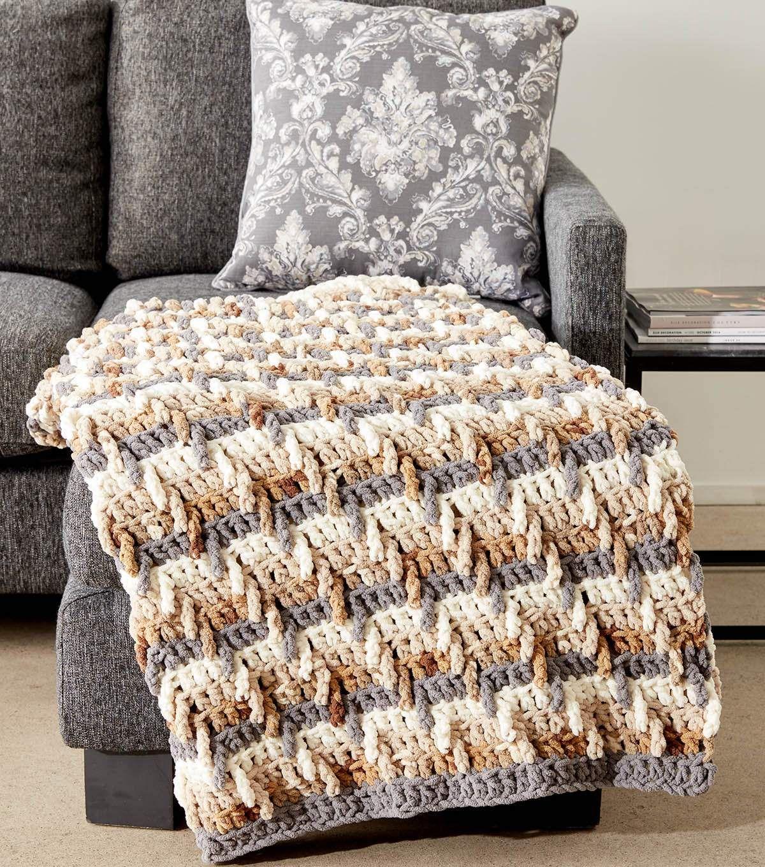 How to make a step ladder crochet blanket crochet for