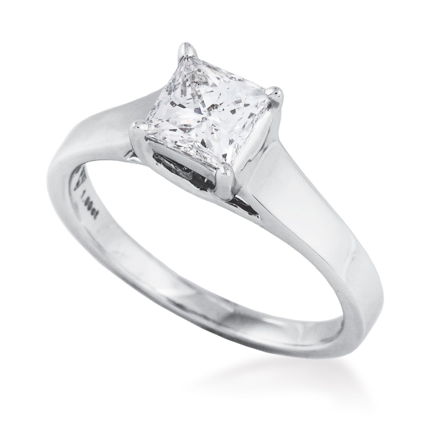 Product namect riddles noventa princess cut diamond solitaire