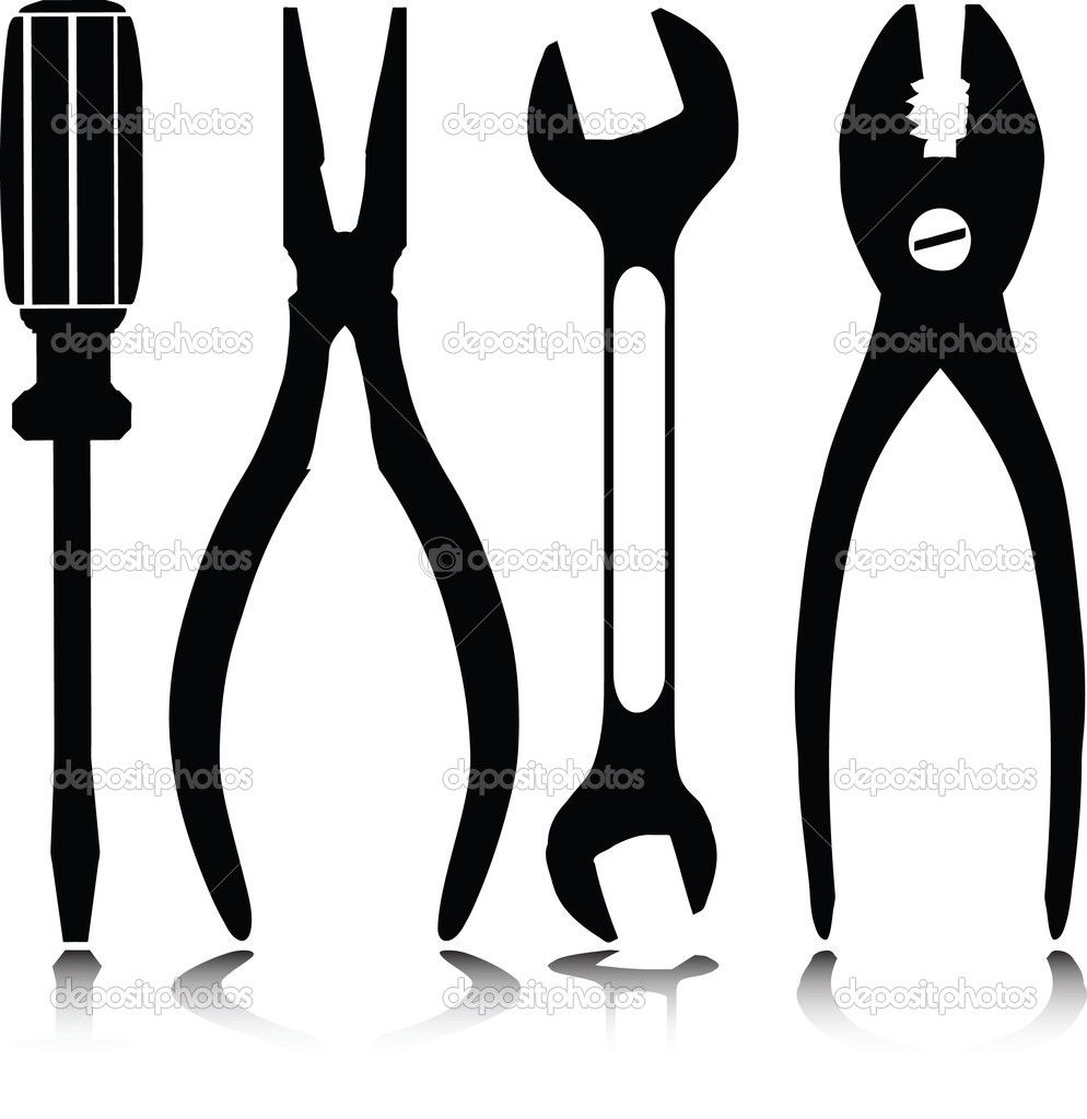 Hand Tool Silhouettes Google Search Tool Silhouettes