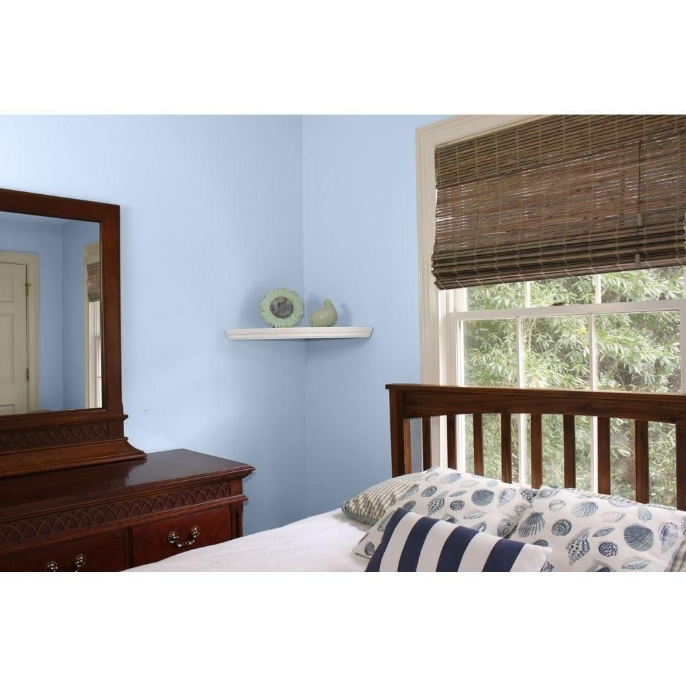 Home Decorators Collection Driftwood Flatweave Bamboo Roman Shade 34 In W X 72 In L 0259534 The Home Bamboo Roman Shades Home Home Decorators Collection