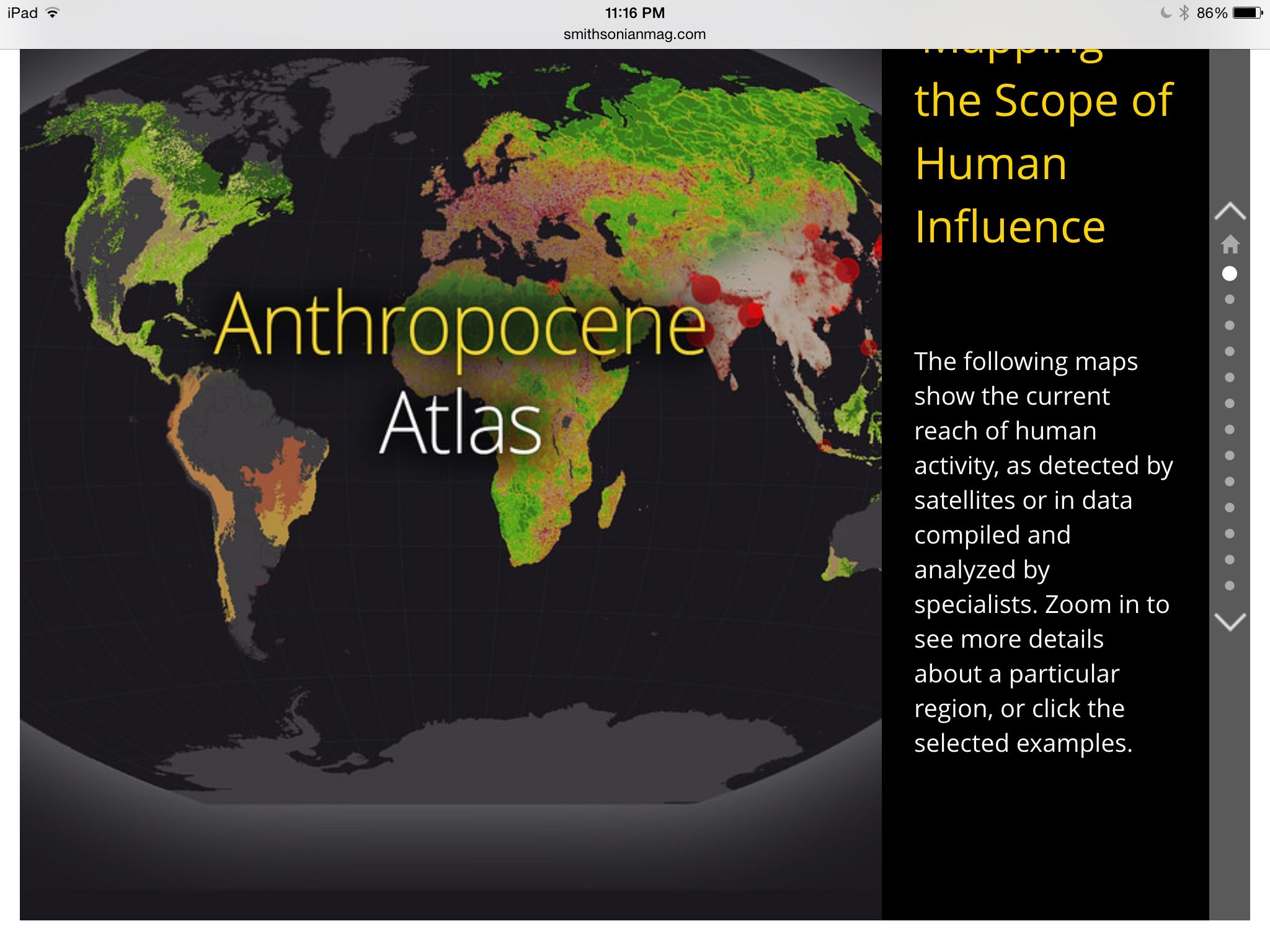 See How Humans Have Reshaped The Globe With This