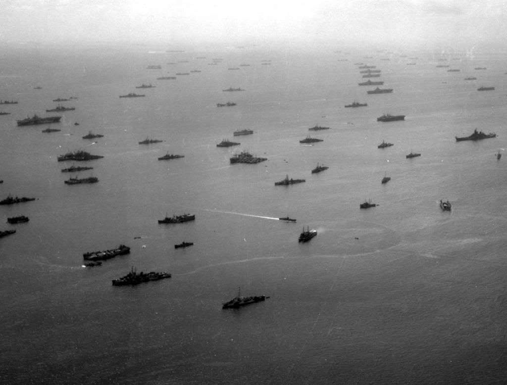 Ships of the 3rd fleet Ulithi December 1944 to March 1945 | Pacific