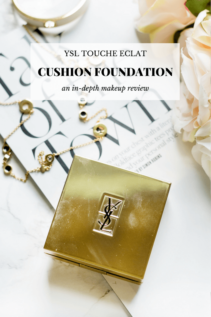 Ysl Touche Eclat Cushion Foundation On The Blog Ysl Contouring
