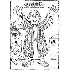 48+ Joseph coat of many colors coloring page download HD