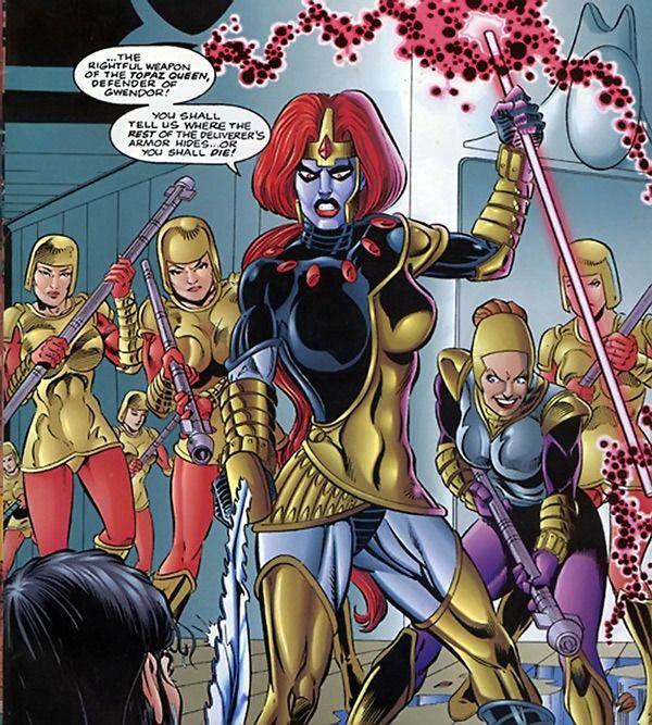 Comic book characters bad girls sex