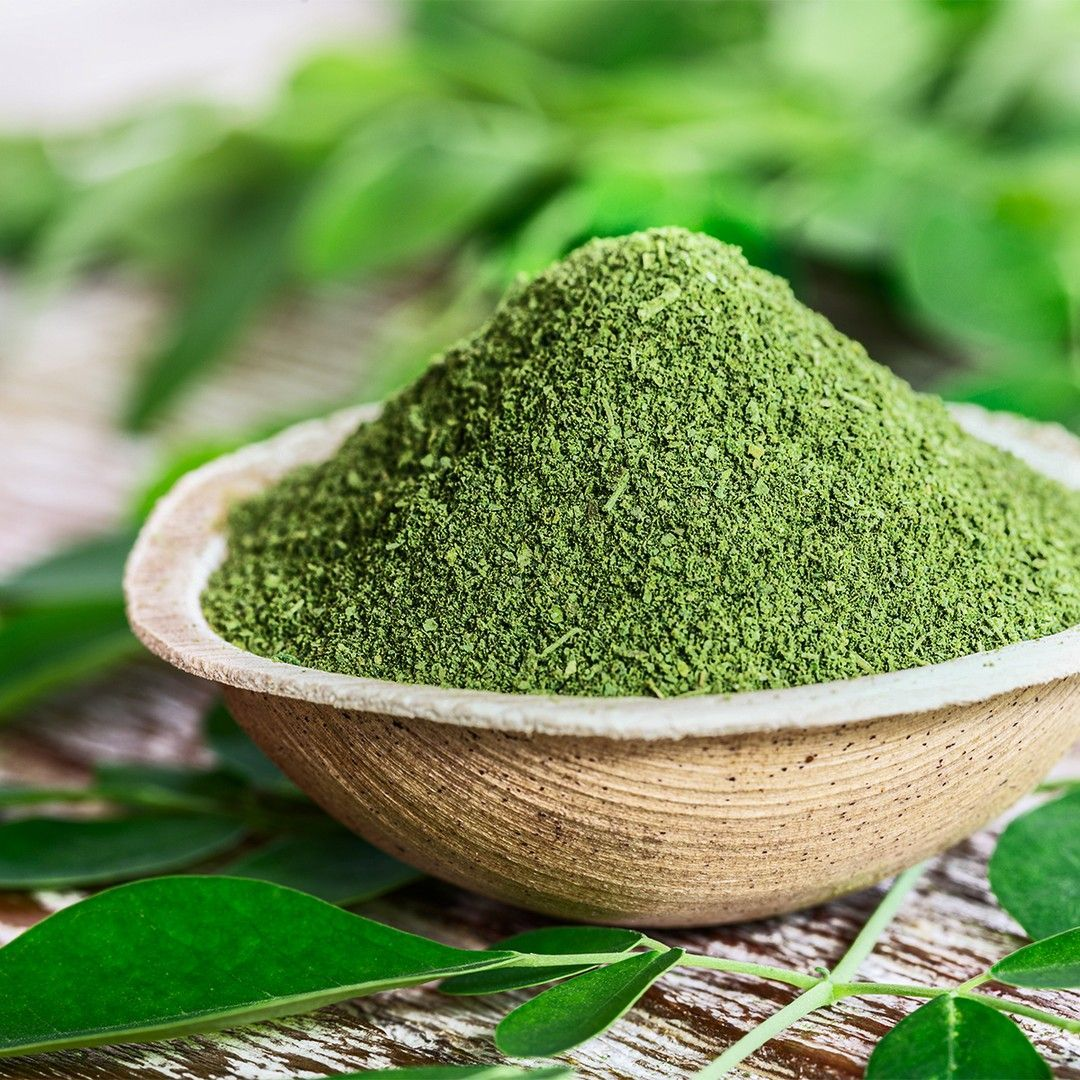 10 Times As Much Potassium As Bananas 17 Times The Calcium In Milk And 9 Times As Much Protein As A Cup Of Yog Moringa Powder Moringa Benefits Moringa Leaves
