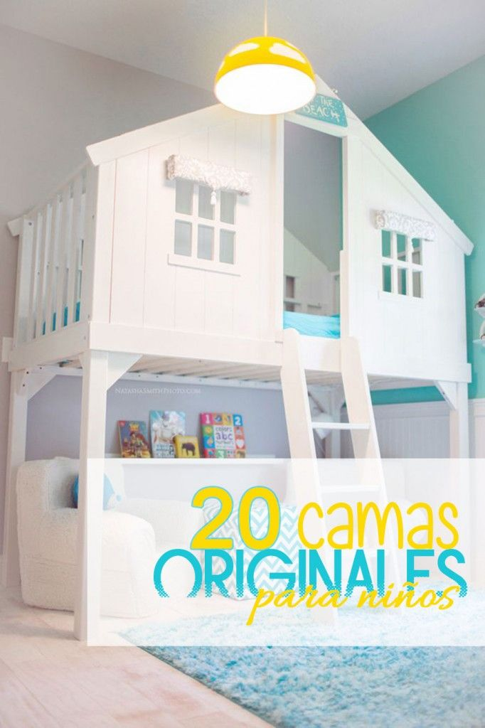 20 camas originales para la habitaci n de los ni os for Habitaciones originales para ninos