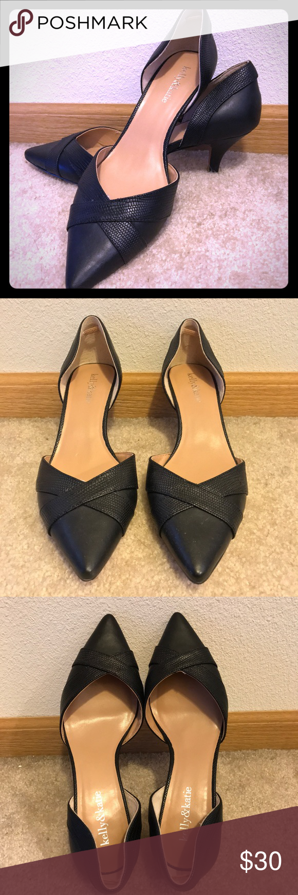 Kelly Katie Kitten Heels Sorry No Trades Paypal Cute And Convenient Pair Of Kelly Katie Kitten Heels Worn F Heel Grips Kelly Katie Kitten Heels