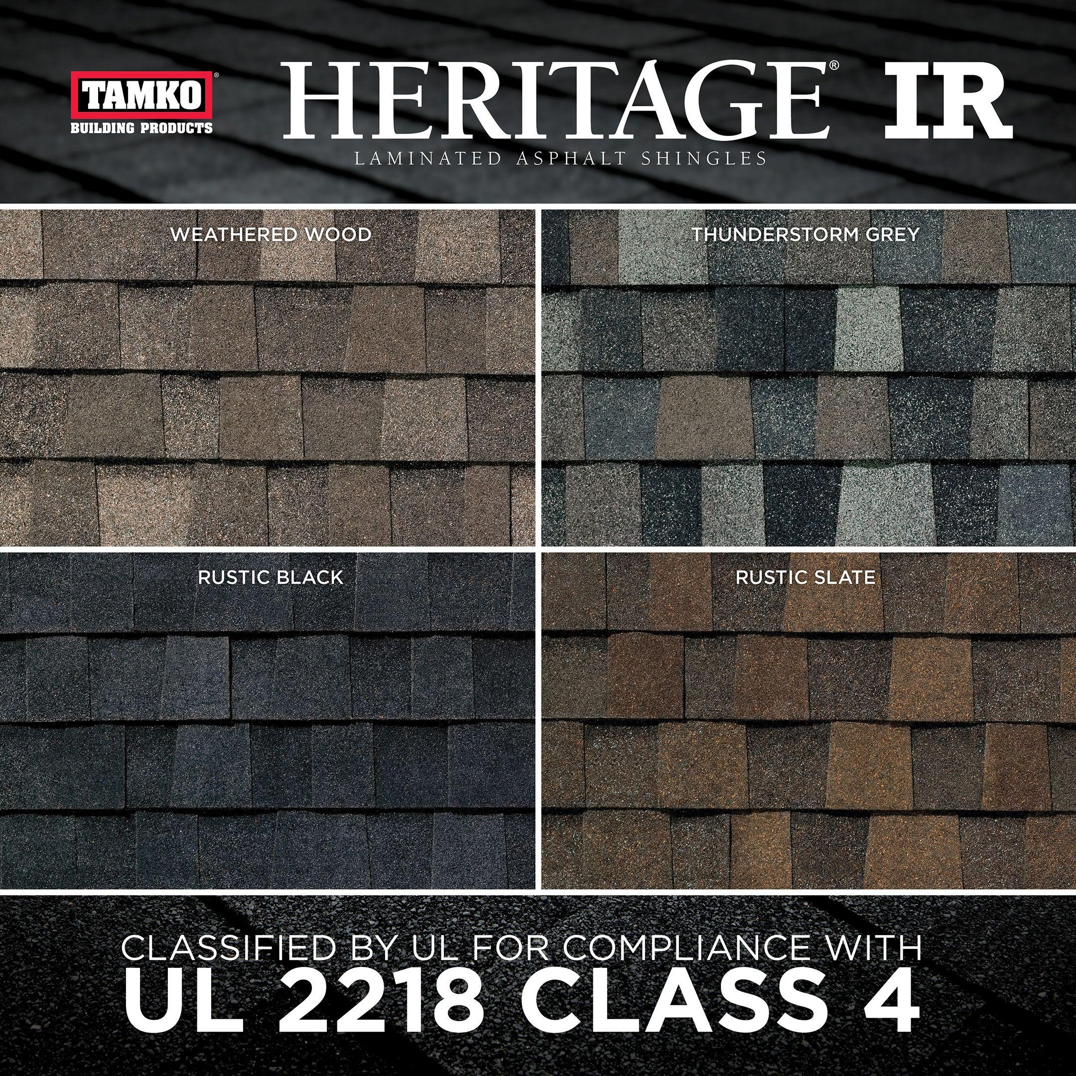 Best Tamko Unveils New Heritage® Ir Shingles 400 x 300