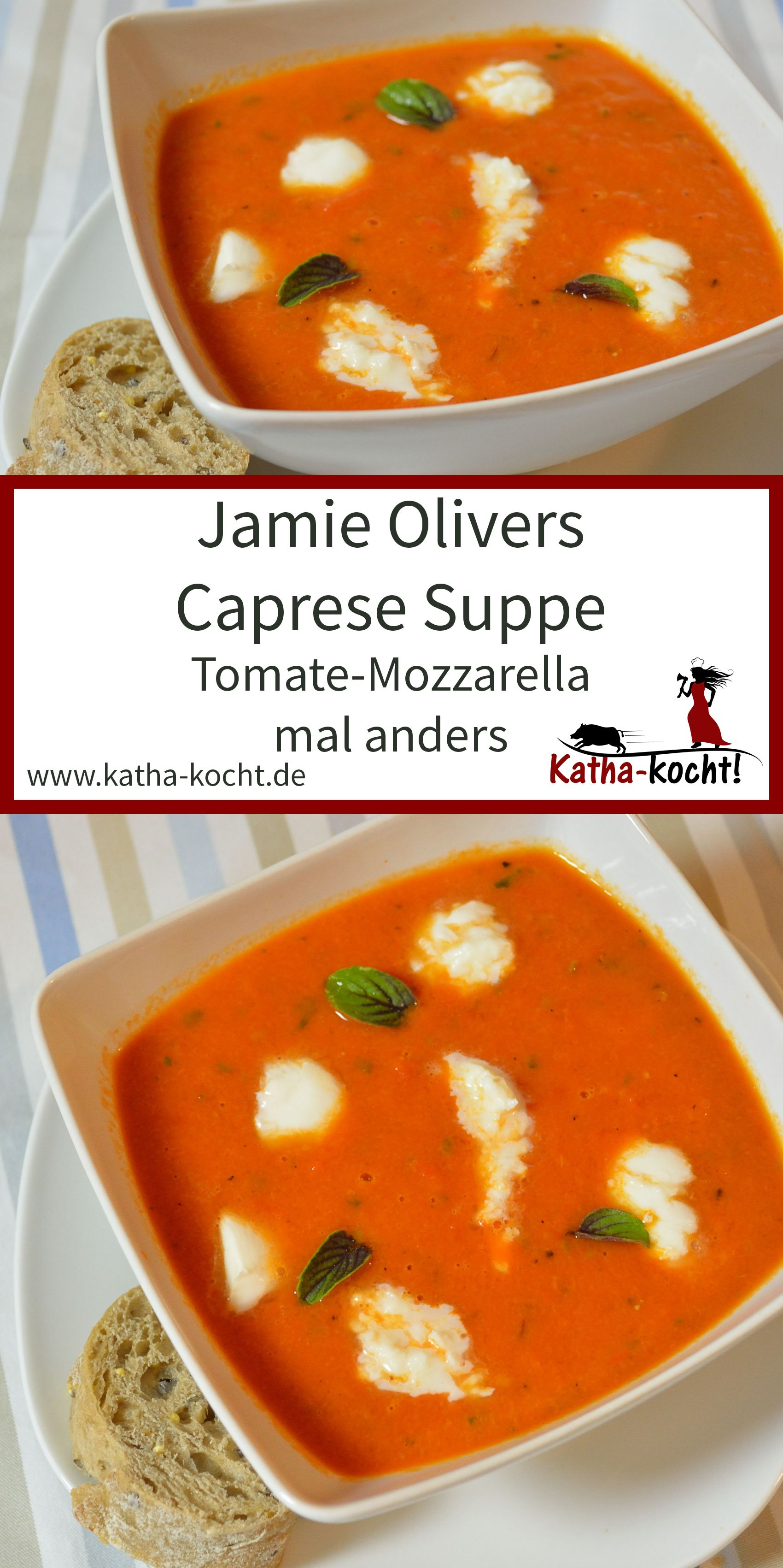 Photo of Jamie Oliver's Caprese Soup