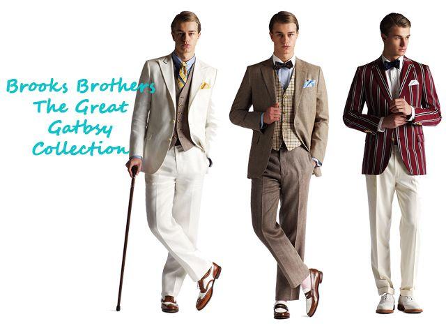 Jazz era men 39 s suits trending art deco in fashion la for Art deco era clothing