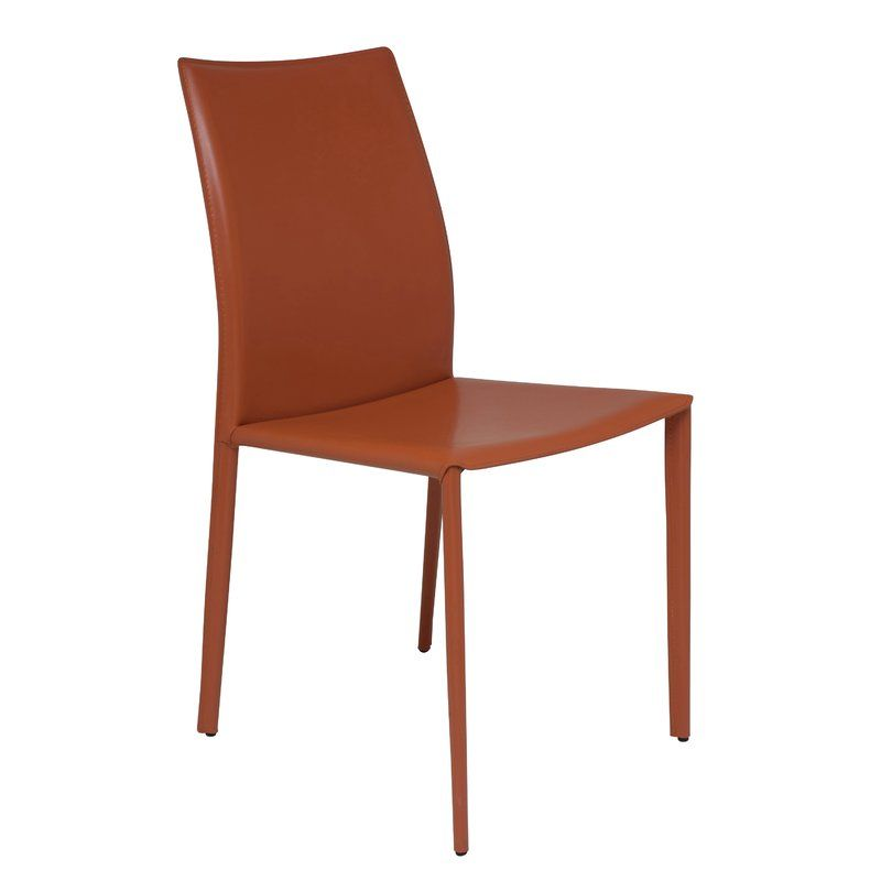 All Modern Leather Dining Chairs Bedroom Chair Argos Sienna Genuine Upholstered Upstate Reno Ideas You Ll Love The At Allmodern With Great Deals On Tabletop Kitchen Products And Free Shipping