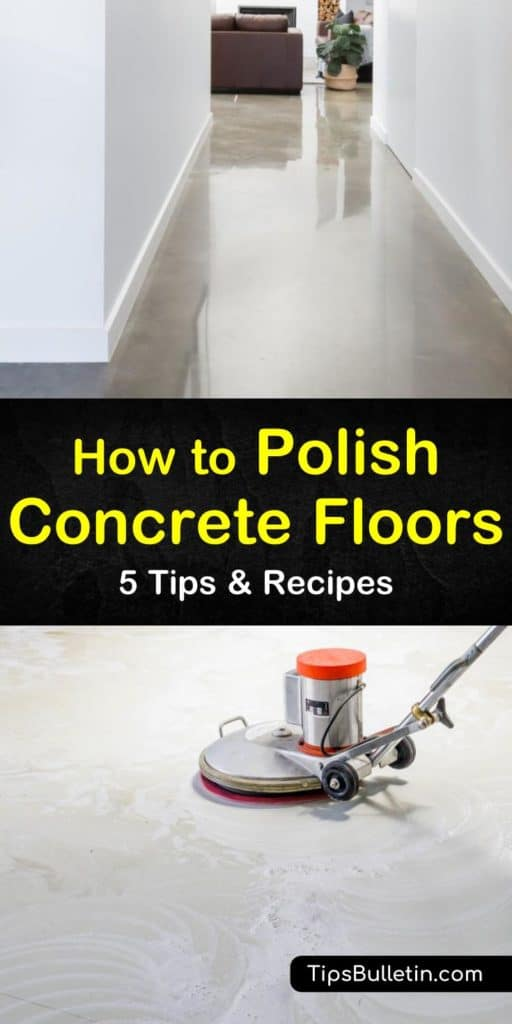 How To Polish Concrete Floors Cleaning Concrete Floors Concrete Floors Polished Concrete