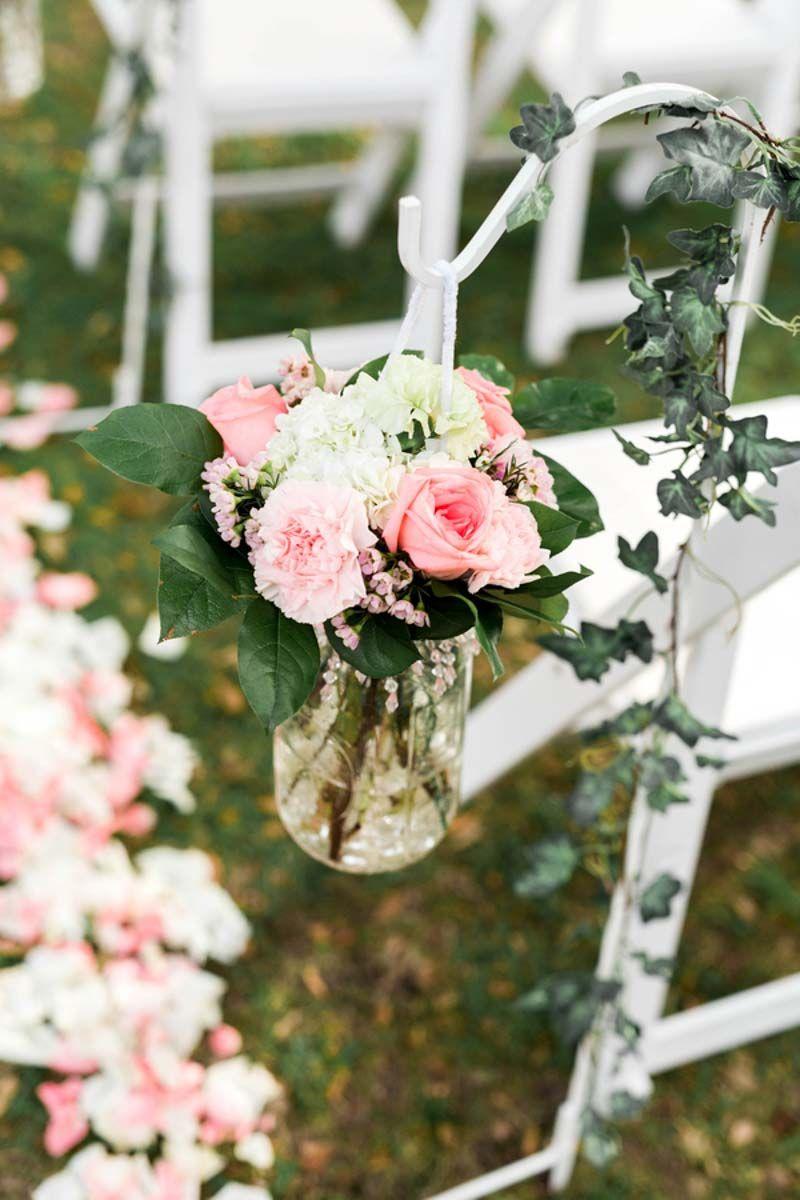 Wedding Ceremony Fl Arrangements By Foo Te S Flowers Clic Outdoor At Casa