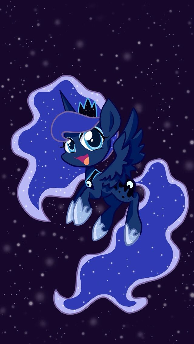 Iphone 5 Wallpaper Of Pincess Luna She S So Cute Celestia And Luna My Little Pony Wallpaper Little Pony