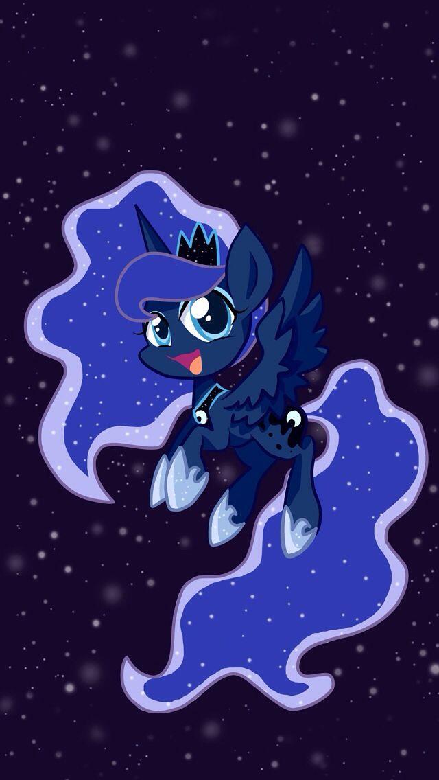 Iphone 5 Wallpaper Of Pincess Luna She S So Cute Celestia And Luna My Little Pony Wallpaper Little Pony