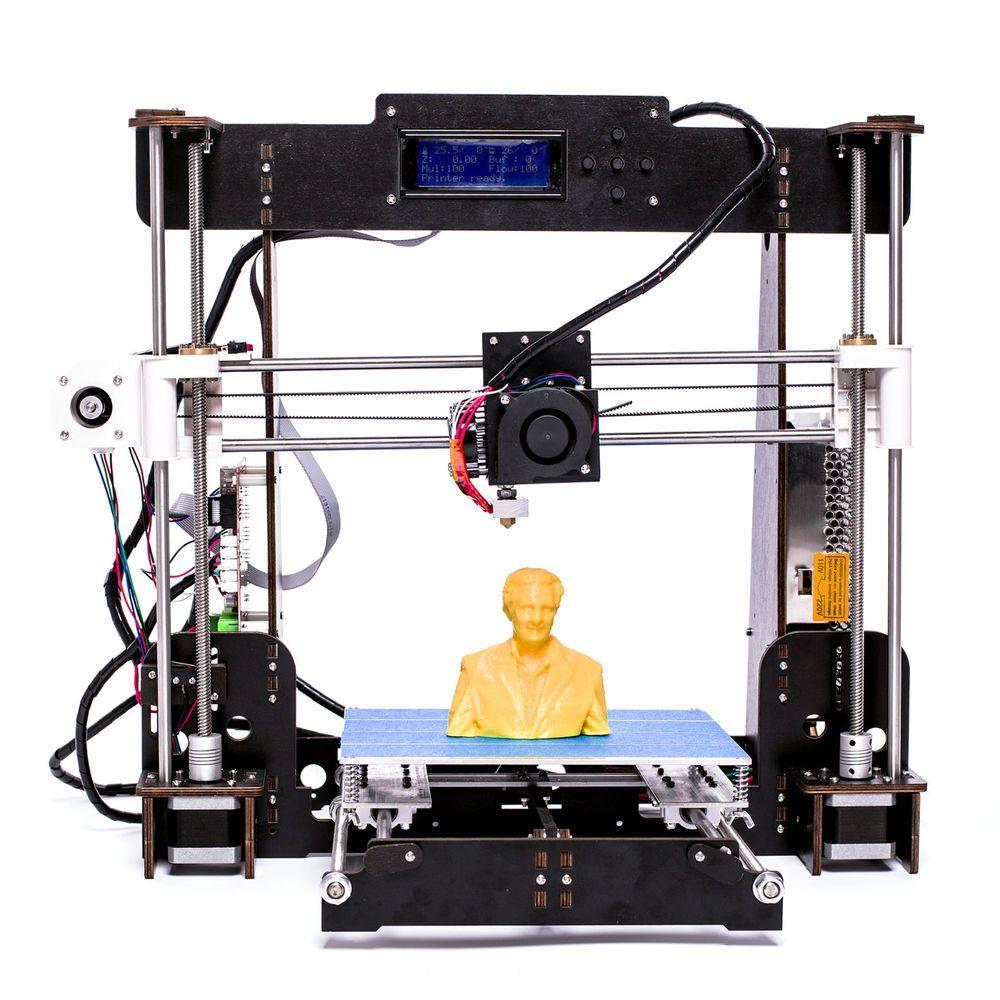 A8 W5 Wooden Lead Screw frame 3D Printer 220220240mm PLA