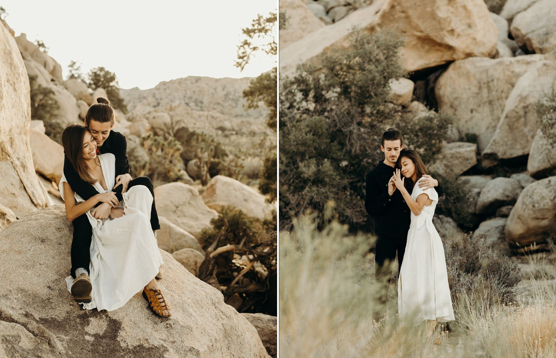 Joshua tree engagement session oh it is love pinterest