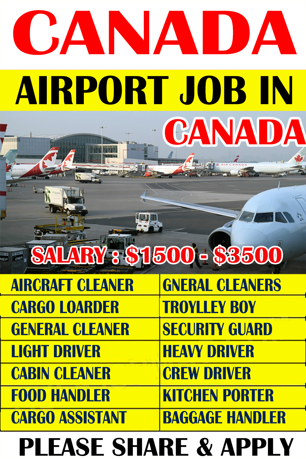 Pin By Ovita Chunza On Driver Job In 2020 Airport Jobs Driver Job How To Apply