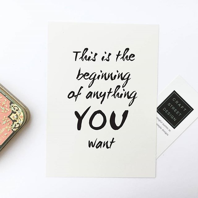 Inspirational Quote Print This Is The Beginning Of Anything You Want Inspirational Quotes Calendar Inspirational Quotes Quotes
