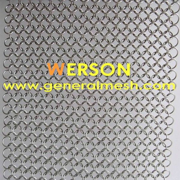 generalmesh spiral mesh curtain for faades security screens brise soleil and drapes security steel