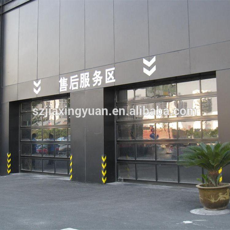 Aluminum Sectional Insulated Transparent Glass Garage Door Buy