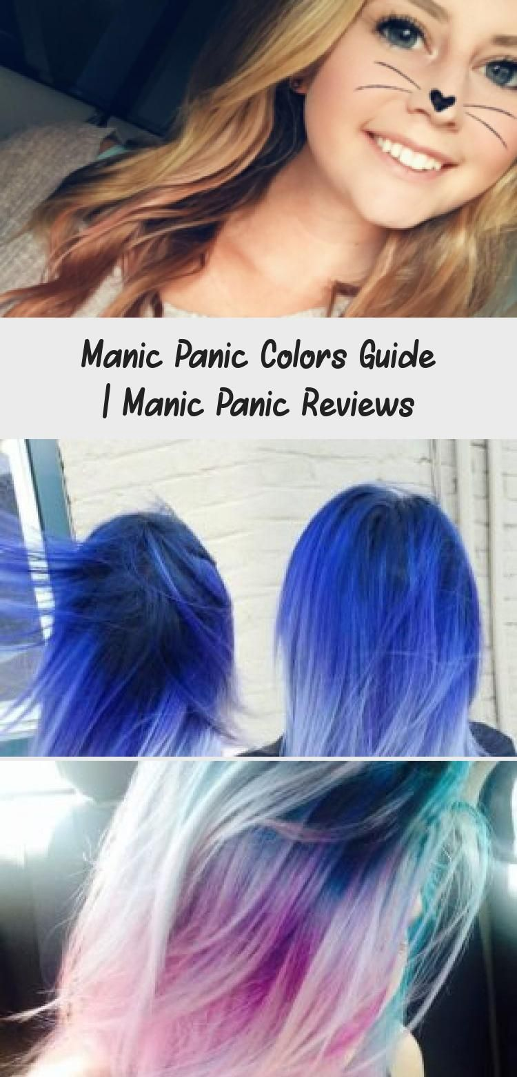 Manic Panic Colors Guide Manicpanic Colors Hairdye Guide Dyedhairboys Dyedhairorange Dyedhairforbrune In 2020 Manic Panic Hair Dye Manic Panic Reviews Dyed Hair