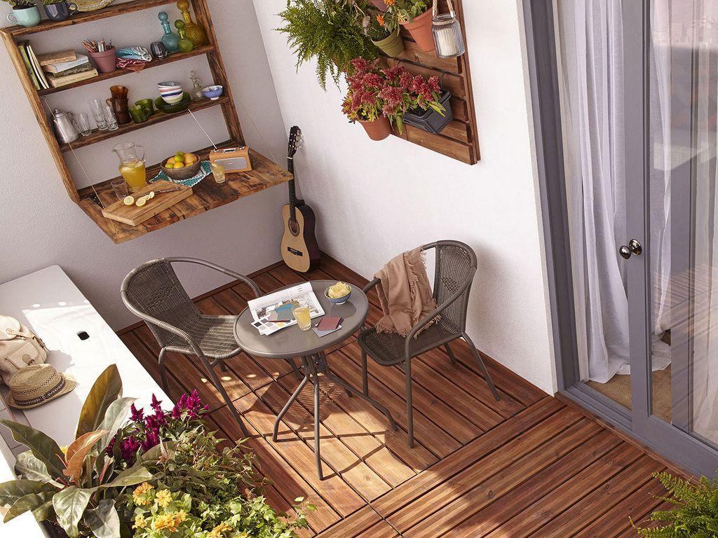 Idees Deco Futees Pour Petit Balcon Amenager Balcon Petit Balcon Et Decoration Petit Salon