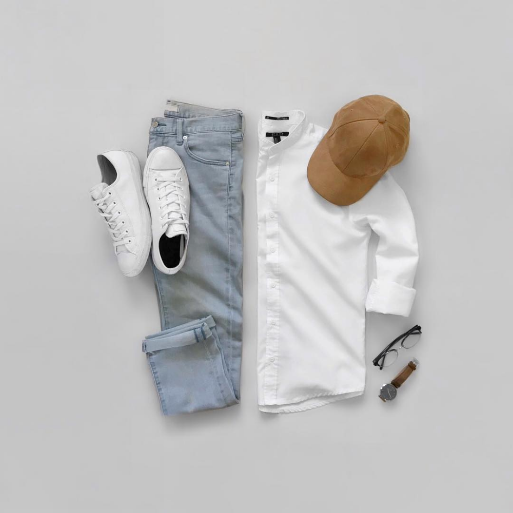 10 Capsule Wardrobe Outfit Grids For Men – ropa