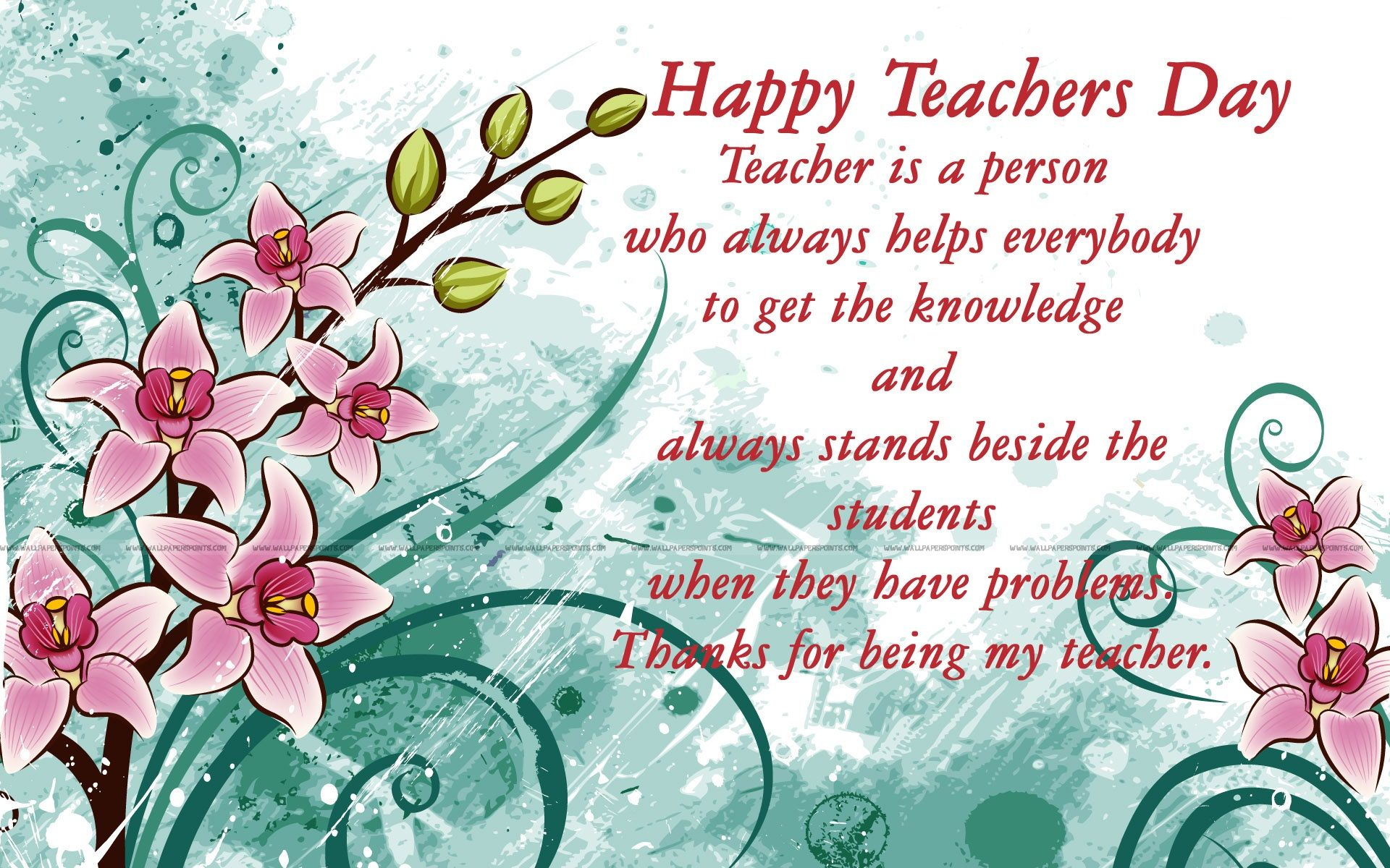 latest teachers day messages sms