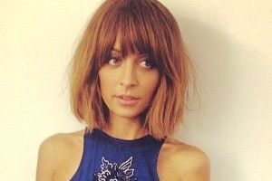 Nicole Richie Tries Not To Be That Mom Hair Styles Nicole Richie Hair Hair