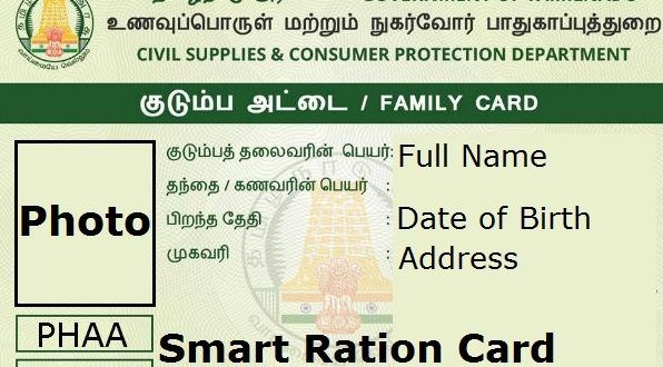 Tnepds App Download Ration Card Public Distribution System Cards