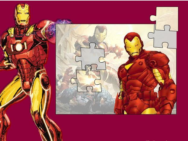 Iron Man Puzzle Game Online Online Puzzle Games Iron Man Iron Man Games