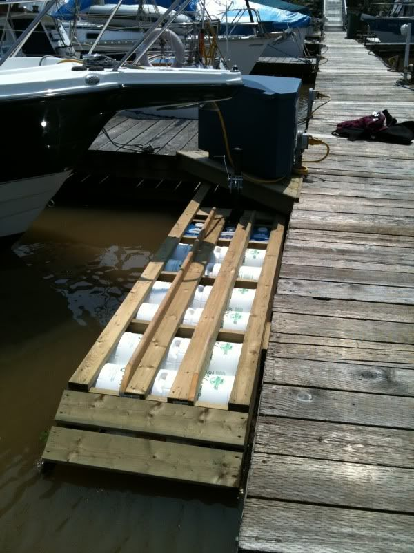 DIY Floating Dock Ramp: Progress Thread - Page 2 | Boat - Ramp/Launch in 2019 | Pontoon paddle ...