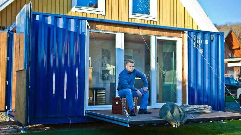 Einen Seecontainer Umbauen Zum Tiny House Schiffscontainer Haus Seecontainer Hauser Seecontainer