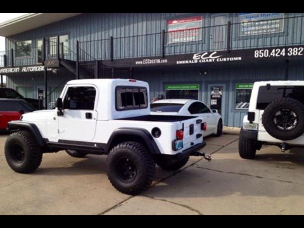 Jeep rubicon truck conversion gr8top w pro comp wheels tires rigid light