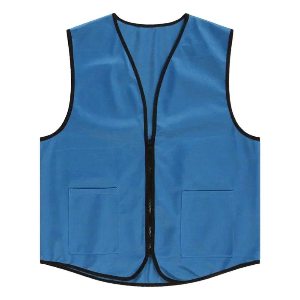 TOPTIE Supermarket Vest//Apron Zipper Vest for Clerk Uniform Vest