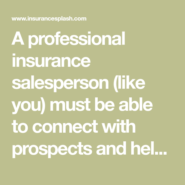 How to Sell Insurance On Value Instead of Price - 14 Sales ...