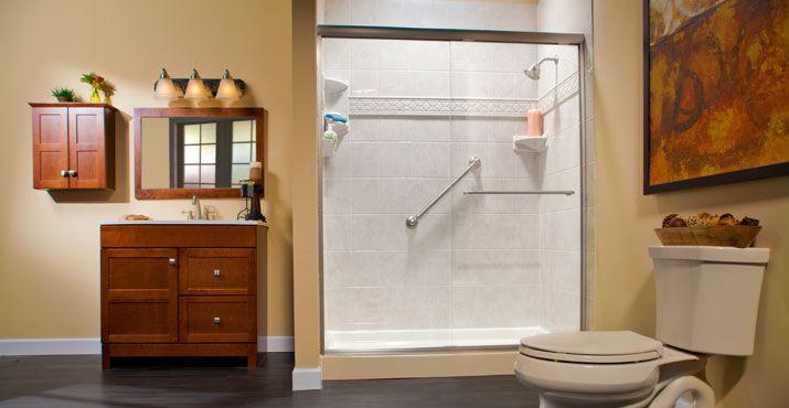 Bciacrylicshower  Bathrooms  Pinterest  Acrylics Dream Enchanting Bathroom Remodeling Baltimore Inspiration Design