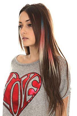 Color fiend blue pink platinum tri tipped hair extension i color fiend blue pink platinum tri tipped hair extension pmusecretfo Image collections